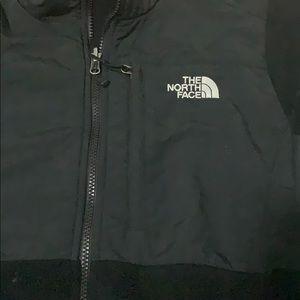 North face fleece jacket size medium
